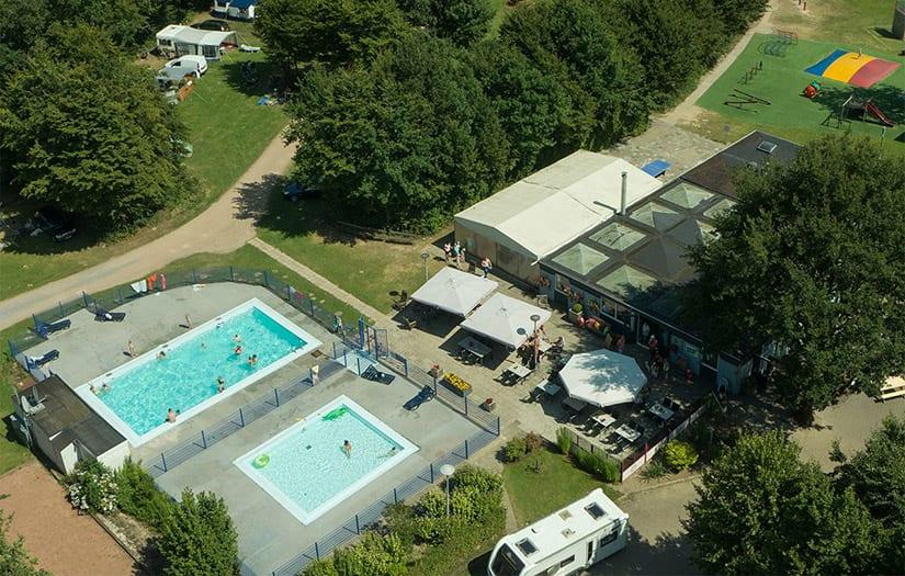 camping in Zuid-Limburg met zwembad